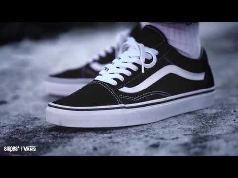Vans Old Skool Black Snipes | goStyle