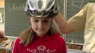 Fahrradhelm macht Schule