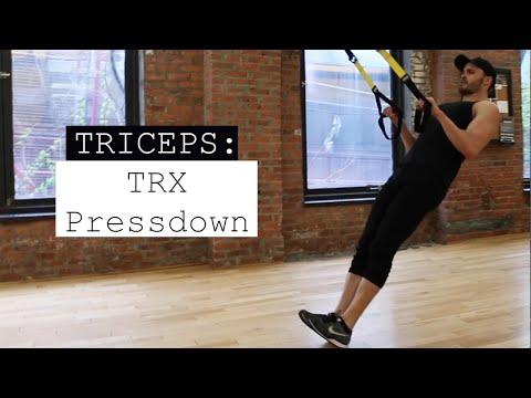 TRX Triceps Pressdown