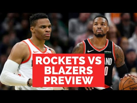 DAME VS RUSS! Rockets vs Trail Blazers Preview