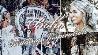 VINTAGE BOHO WEDDING INSPIRATION || RUSTIC WEDDING STYLED SHOOT 2019
