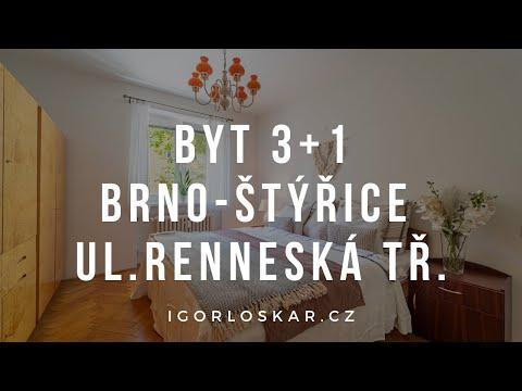 Video z << Prodej bytu 3+1, 84 m2, Brno >>