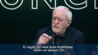Michael Caine (Live!) 4 Anekdoten (mit deutschen UT)