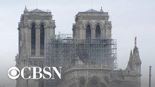 Notre Dame Cathedral still standing after devastating fire