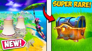 *NEW* MAP + SUPER RARE CHESTS!! - Fortnite Funny Fails and WTF Moments! #710