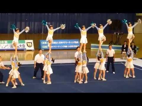 目白研心中学校 POLARIS 関東チアリーディング選手権2016