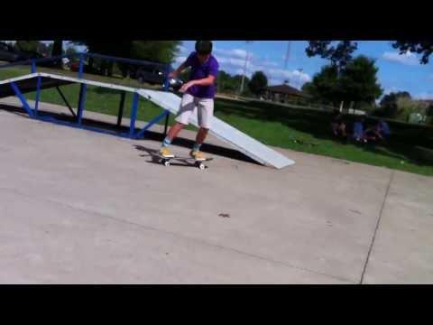 Line at b town skatepark