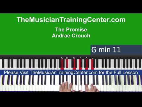 "Piano: How to Play ""The Promise"" by Andrae Crouch"