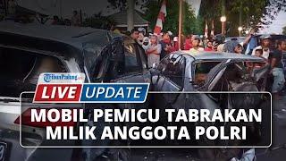 LIVE UPDATE: Pajero Sport yang Picu Tabrakan Beruntun di Kota Padang Milik Anggota Polri