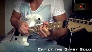 Dokken Cry of the Gypsy Solo Cover