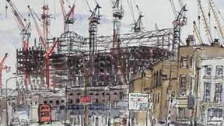 preview picture of video 'Yvonne Fuller - Canary Wharf Drawings  1990 -1993'