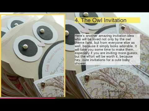 Top 10 Creative DIY Baby Shower Invitation Ideas