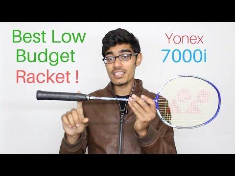 YONEX 7000i Unboxing and Review | Budget Badminton Racket | SportShala | Hindi