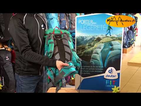 Видео о Рюкзак Deuter Guide Lite 28 SL цвет 5324 maron-arctic 3360017 5324