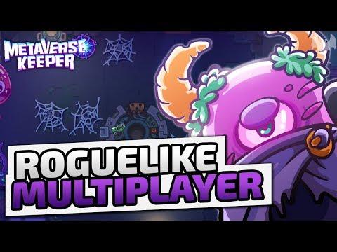 Roguelike Multiplayer - ♠ Metaverse Keeper #001 ♠ - Dhalucard