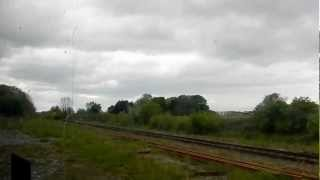 preview picture of video '14.47 Limerick Train Departing Athenry on Saturday 19th May 2012.MOV'