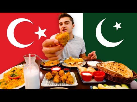 Trying Pakistani food in Istanbul