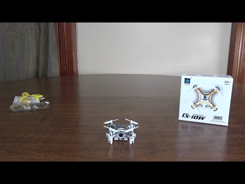Cheerson - CX-10W (World's Smallest WiFi FPV Quadcopter) - Review and Flight