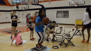 Thumbnail of Inspiring Young Engineers at Girl's Basketball Camp video