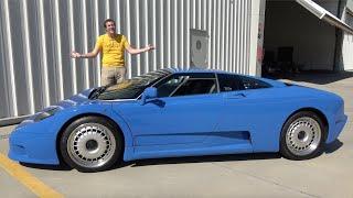 The Bugatti EB110 Is the Ultra-Rare, Ultra-Quirky 1990s Bugatti