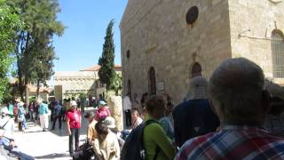 preview picture of video 'Madaba, Jordan - Church bells rings on Good Friday (Holy Friday, Easter Friday Black Friday)'