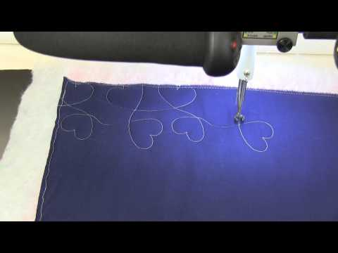 APQS Quilt Path: Lesson 5 - Placing & Stitching Panto Pattern