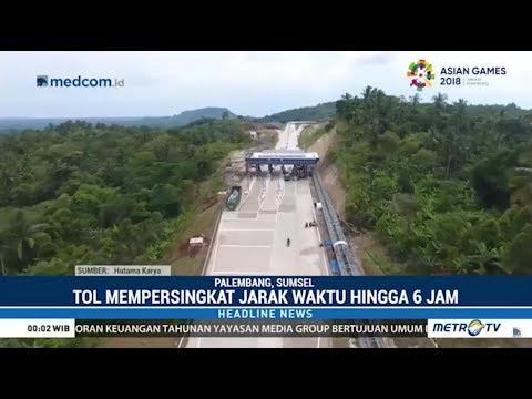 Impian Jadi Kenyataan : Tol Lampung-Palembang Bisa Dilintasi Tahun Depan