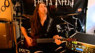 Video #100guitarsfromHEL - Mirek Andrassy (PORTA INFERI)