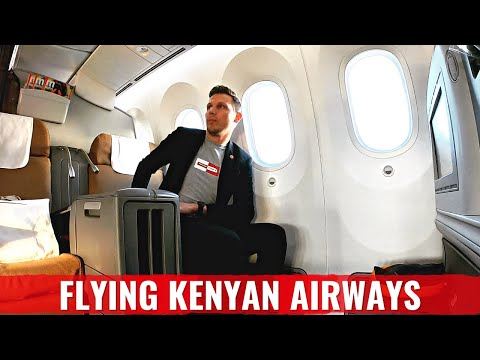 Review: KENYA AIRWAYS 787 Business Class – BEST AFRICAN AIRLINE?