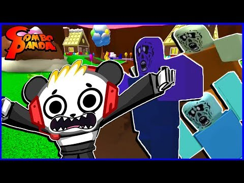 Roblox Zombie Rush Episode 2 Lets Play With Combo Panda