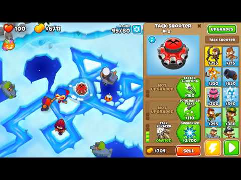 BTD6 Bloons Tower Defense 6 Cubism Hard Rounds 3-80 No Lives