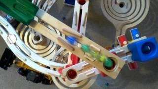 Our quadrilla marble run
