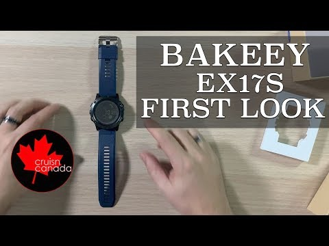 Bakeey EX17S Smart Watch Unboxing and First Loo