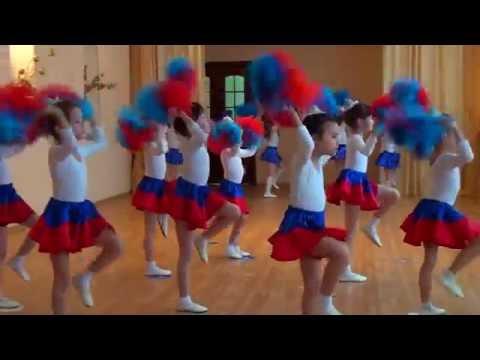 """спортивный  танец """"Россия"""" 2016 видео"""