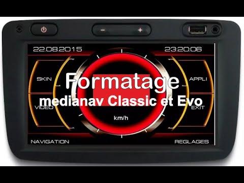 Formatage medianav 4.0.6 Renault Dacia
