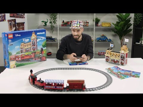Vidéo LEGO Disney 71044 : Le train et la gare Disney