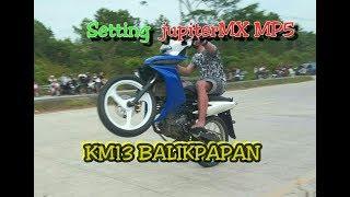 Setting! Jupiter mx new MP5 km13 toll Balikpapan Ramadan Cup