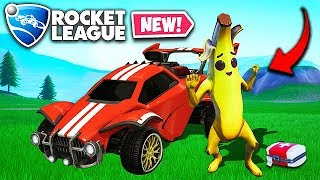 *NEW* PLAY ROCKET LEAGUE IN FORTNITE! - Fortnite Funny Fails and WTF Moments! #504