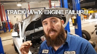 TRACKHAWK HELLCAT ENGINE ISSUE AND HEAD REMOVAL