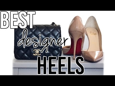 Top 5 most comfortable DESIGNER HEELS for wide feet | Louboutin heels, Hermes wedges etc