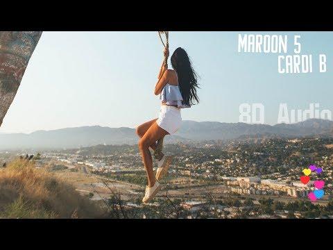 Maroon 5 - Girls Like You ft. Cardi B (Volume 2) 8D Audio