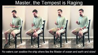 Master, the Tempest is Raging