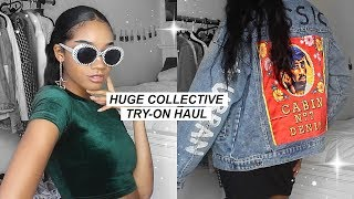 HUGE COLLECTIVE TRY-ON HAUL! (Lookbook Style)   Super Affordable!