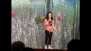 "Ciara in ""Moyle's got talent"""