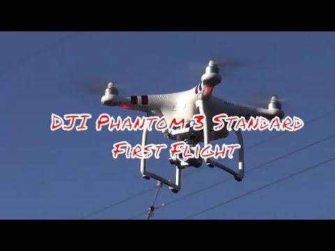DJI Phantom 3 standard first flying - Naijafy
