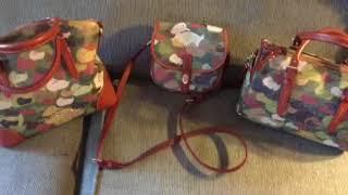 Handbag Collection 2017 - Dooney & Bourke Camo Bags