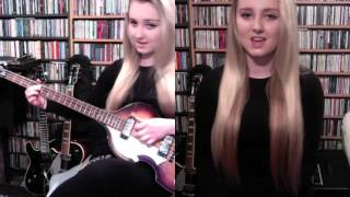 Me Singing 'I Feel Fine' By The Beatles (Full Instrumental Cover By Amy Slattery)