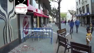 preview picture of video 'ESPARREGUERA TV. Malmès el Mural ceràmic dels carrer dels Arbres'