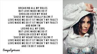 Cheryl   Love Made Me Do It (Lyrics)