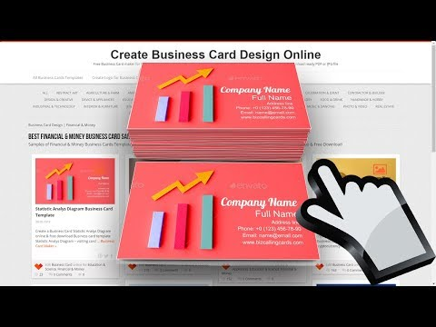 mp4 Financial Business Card Template, download Financial Business Card Template video klip Financial Business Card Template